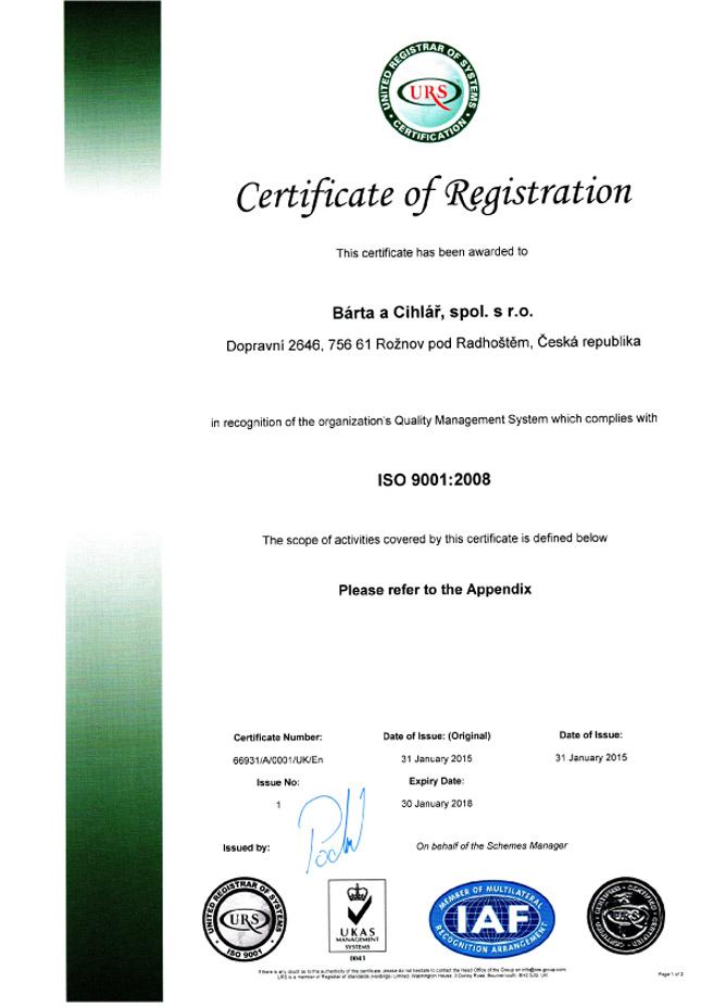 Certification2015